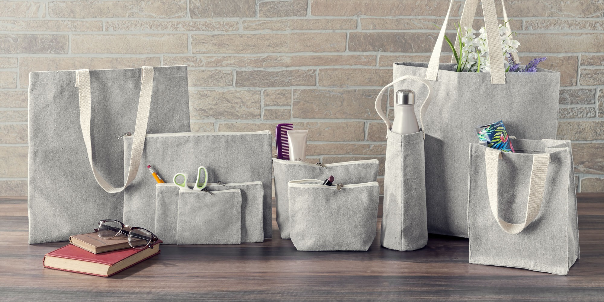 Recycled Canvas, Wholesale Tote Bags | Packaging Decor