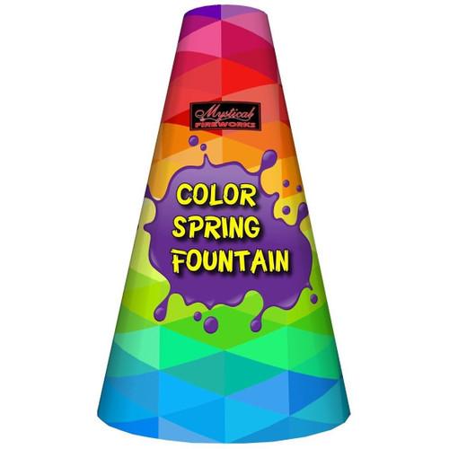 Color Spring Fountain