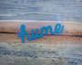 Cursive Hume Sticker