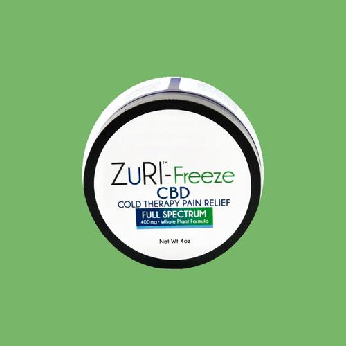 zuri cbd oil hemp freeze full spectrum biofreeze pain gel lotion