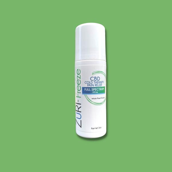zuri cbd oil hemp freeze full spectrum biofreeze pain roll on