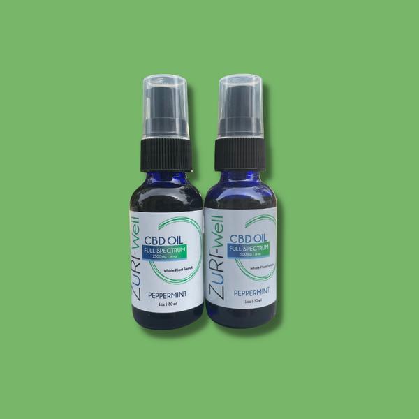 zuri cbd hemp full spectrum wellness well drops oil drops
