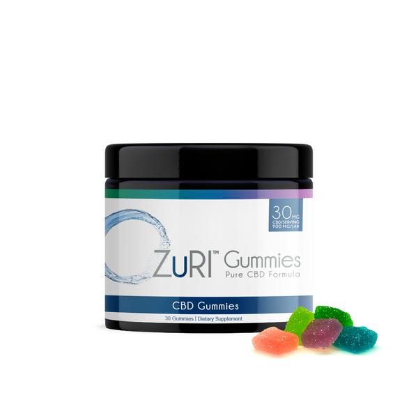 ZuRI CBD Gummies Assorted Flavor