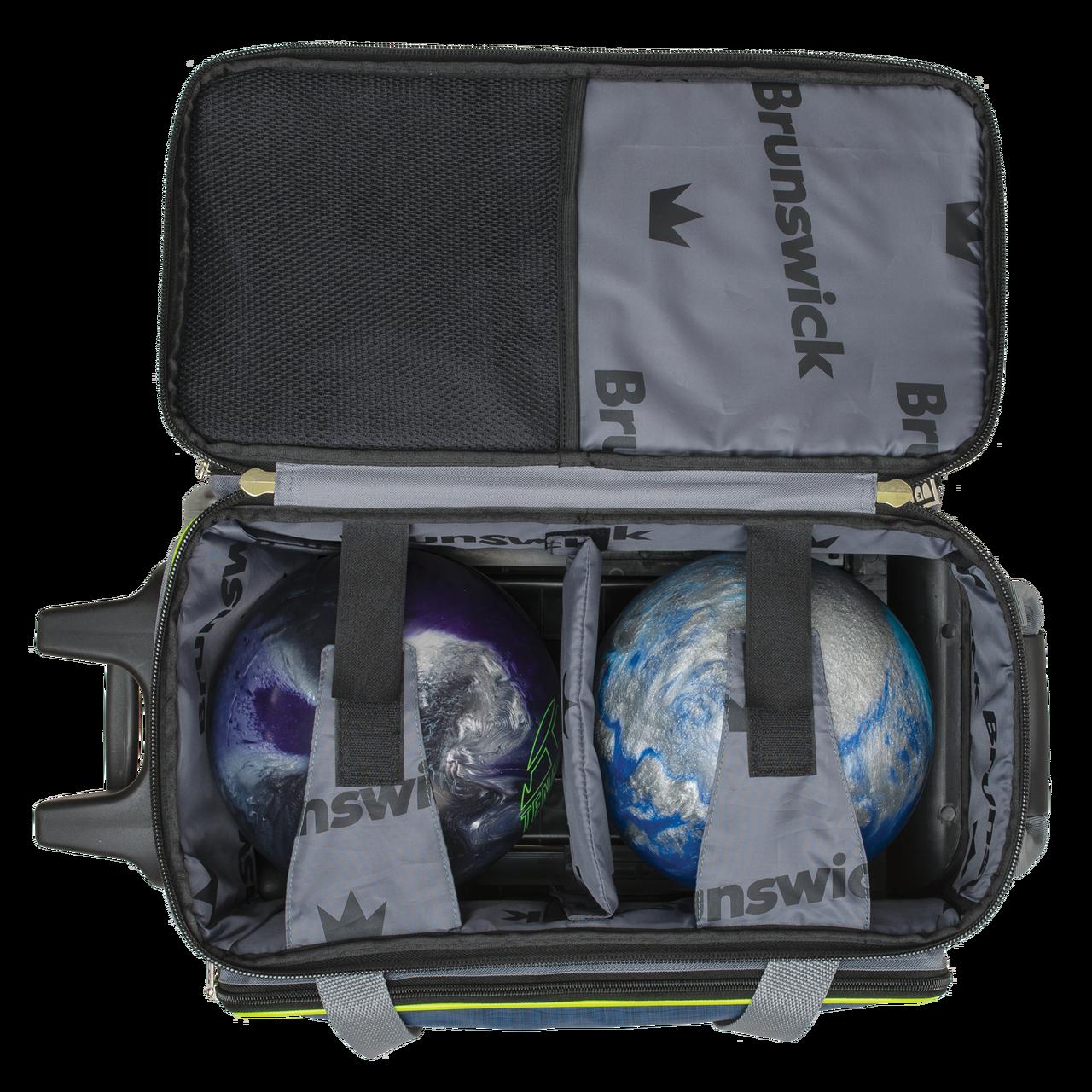Brunswick Edge Double Roller Bowling Bag