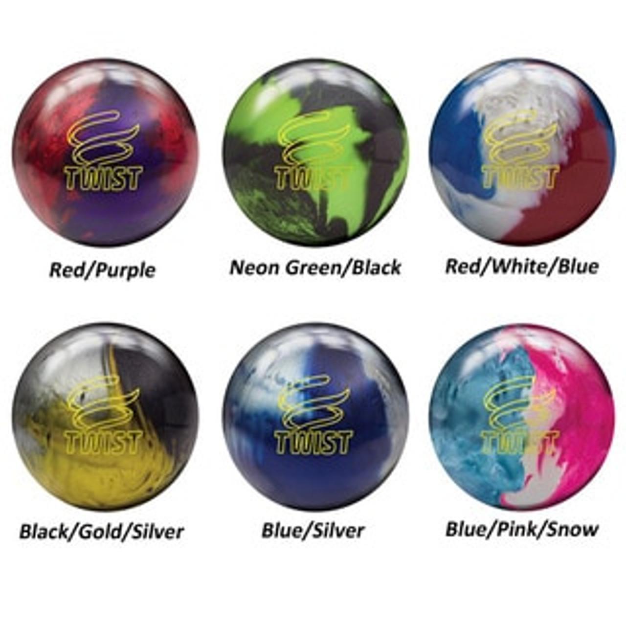 Brunswick Twist Blue//Silver Bowling Ball