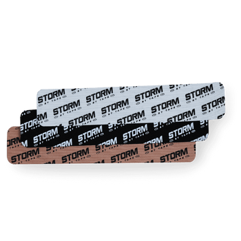 Storm GT Tape - Black - 20 Pre-Cut Strips
