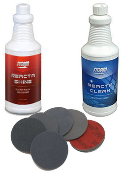 Storm Reacta Clean & Shine with Complete Set of Abralon Pads