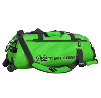 Vise 3 Ball Tote Roller Neon Green