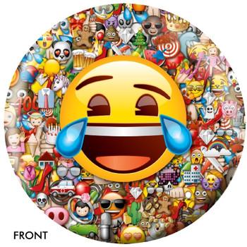 OTBB Emoji Laugh-Cry Bowling Ball