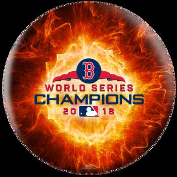 OTBB Boston Red Sox Bowling Ball 2018 World Series Bowling Ball