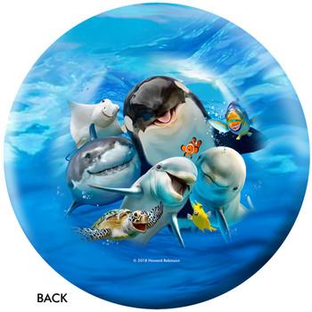 OTBB Ocean Pals Selfie Bowling Ball