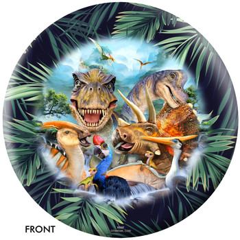 OTBB Dinosaurs Selfie Bowling Ball