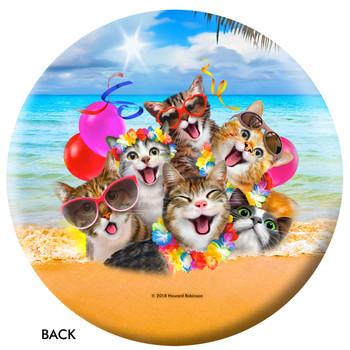 OTBB Cats Selfie Bowling Ball