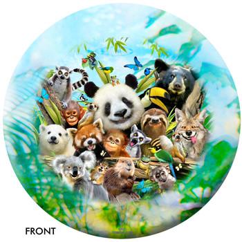 OTBB Zoo Friends Selfie Bowling Ball