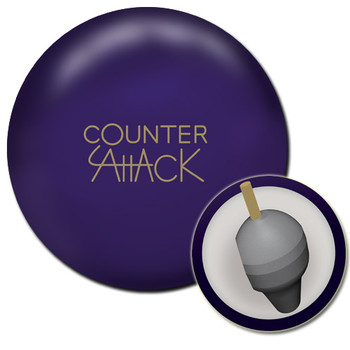 Radical Counter Attack Solid Bowling Ball and Core