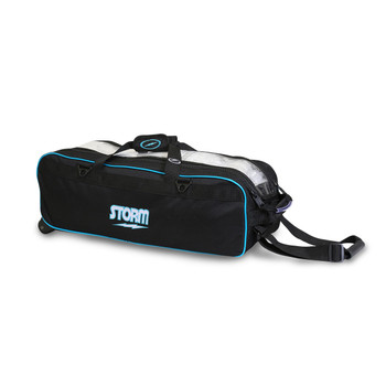 Storm Tournament 3 Ball Tote Roller Black/Blue