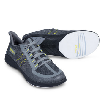 KR Strikeforce Blaze Mens Bowling Shoes Dark Grey/Yellow