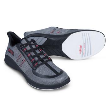 KR Strikeforce Blaze Mens Bowling Shoes Light Grey/Red
