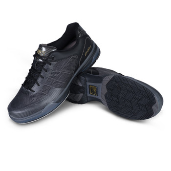 KR Strikeforce Rage Mens Bowling Shoes Right Hand - Gunmetal/Black