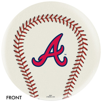 OTTB Atlanta Braves Bowling Ball
