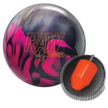 Hammer Raw Bowling Ball - Purple/Pink/Silver Pearl