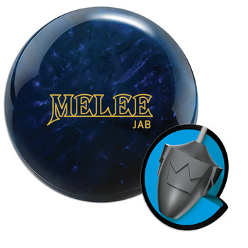 Brunswick Melee Jab Midnight Blue Bowling Ball and Core