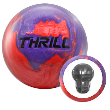 Motiv Top Thrill Purple/Red Bowling Ball and Core