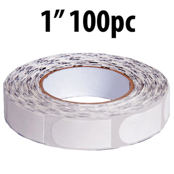 "KR Strikeforce Premium Sure Fit Tape - White 1"" 100 Piece Roll"