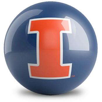 OTBB Illinois Fighting Illini Bowling Ball