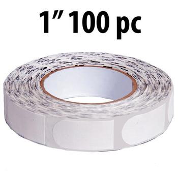 "KR Strikeforce Sure Fit Tape - White 1"" 100 Piece Roll"