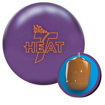 Track Heat Bowling Ball - Ultra Violet and core