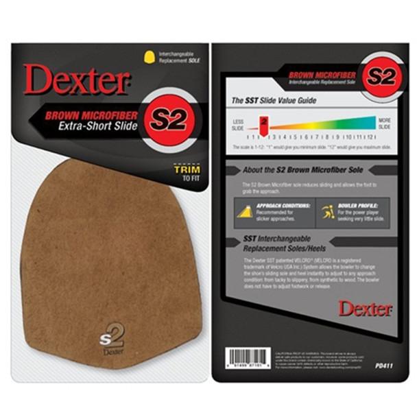 Dexter Replacement Sole - Brown Microfiber (S2) - Model-PD411