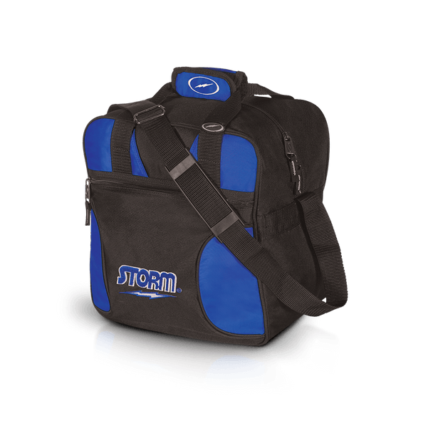 Storm 1 Ball Solo Bowling Bag Black/Royal