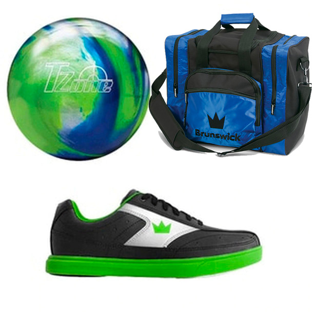 Brunswick Boys Target Zone Ball, Bag and Shoes Package