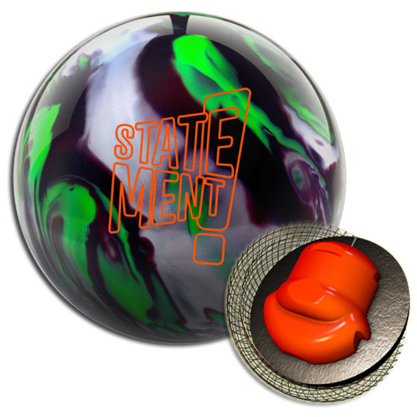 Hammer Statement Pearl Bowling Ball and Core