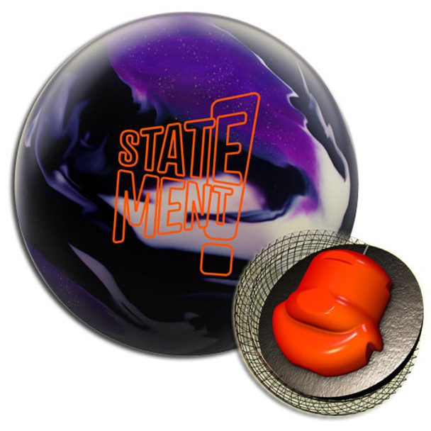 Hammer Statement Solid Bowling Ball and Core