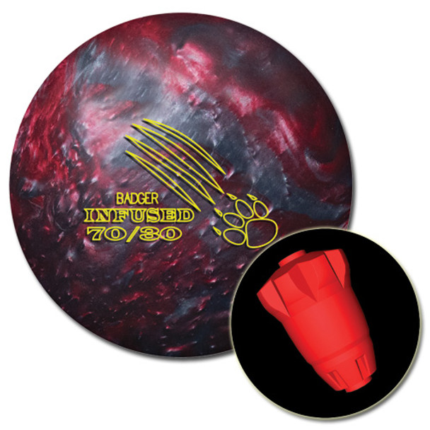 900 Global Badger Infused Bowling Ball and Core