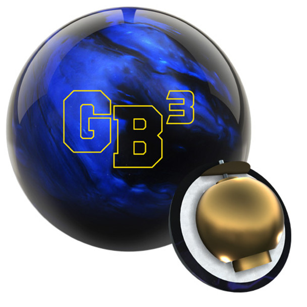 Ebonite Game Breaker 3 BLACK/BLUE Bowling Ball and core