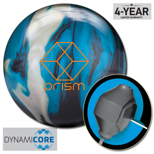 Brunswick Prism Hybrid Bowling Ball and core