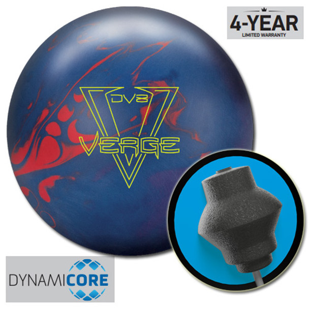 DV8 Verge Bowling Ball and core