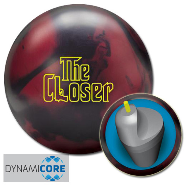Radical The Closer Bowling Ball and core