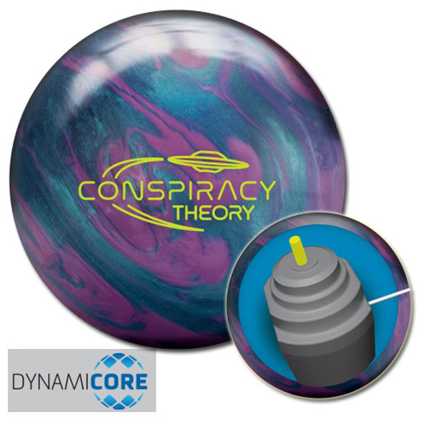 Radical Conspiracy Theory Bowling Ball and Core