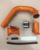 "LBZ Duramax Billet 3"" 3in Y-bridge kit Illusion Orange SDP"