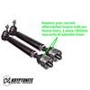 KRYPTONITE REPLACEMENT INNER TIE ROD, STOCK CENTER LINK 2011+