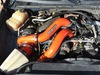 SDP compound turbo kit twin turbo LBZ Duramax Illusion Orange