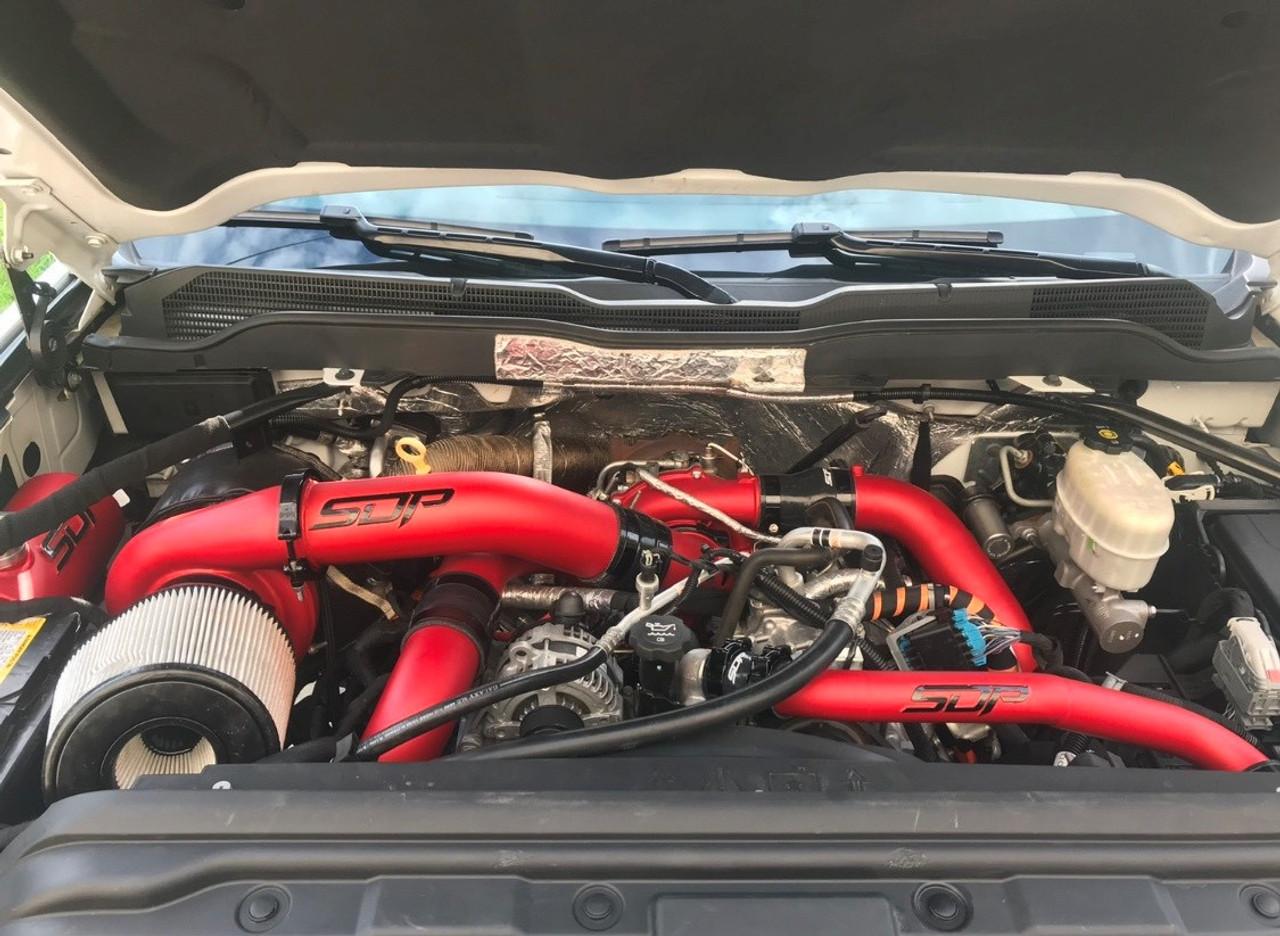 SDP twin turbo kit Duramax LML Red Velvet compound