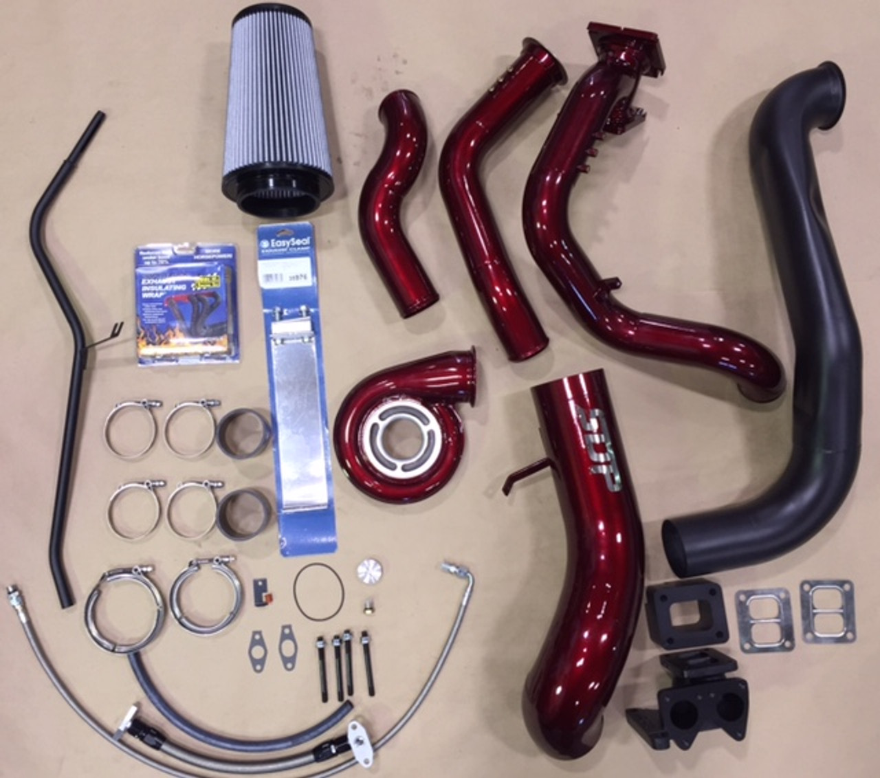 LMM S468 kit without turbo- Cherry