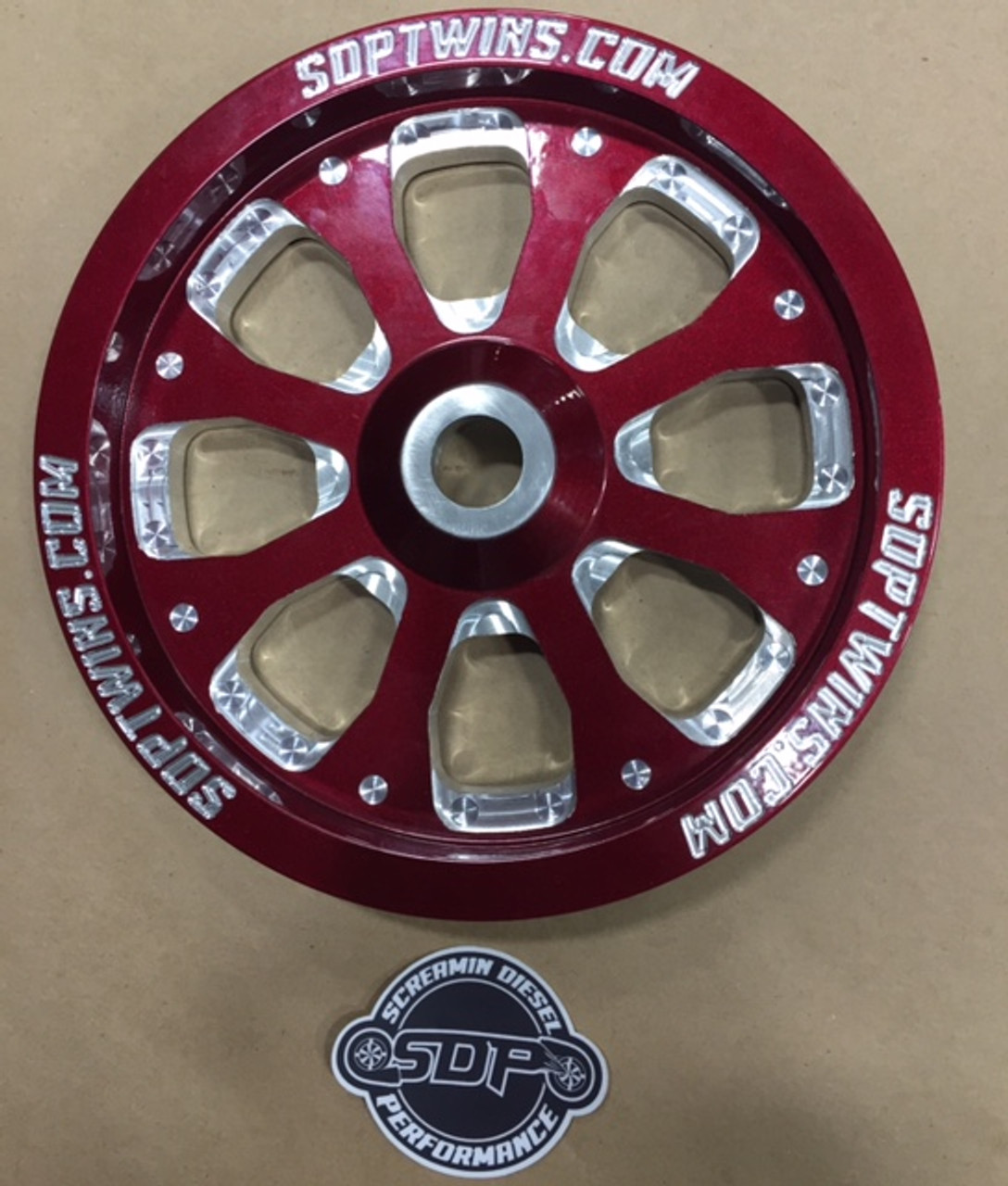 Duramax Dual Twin CP3 pulley