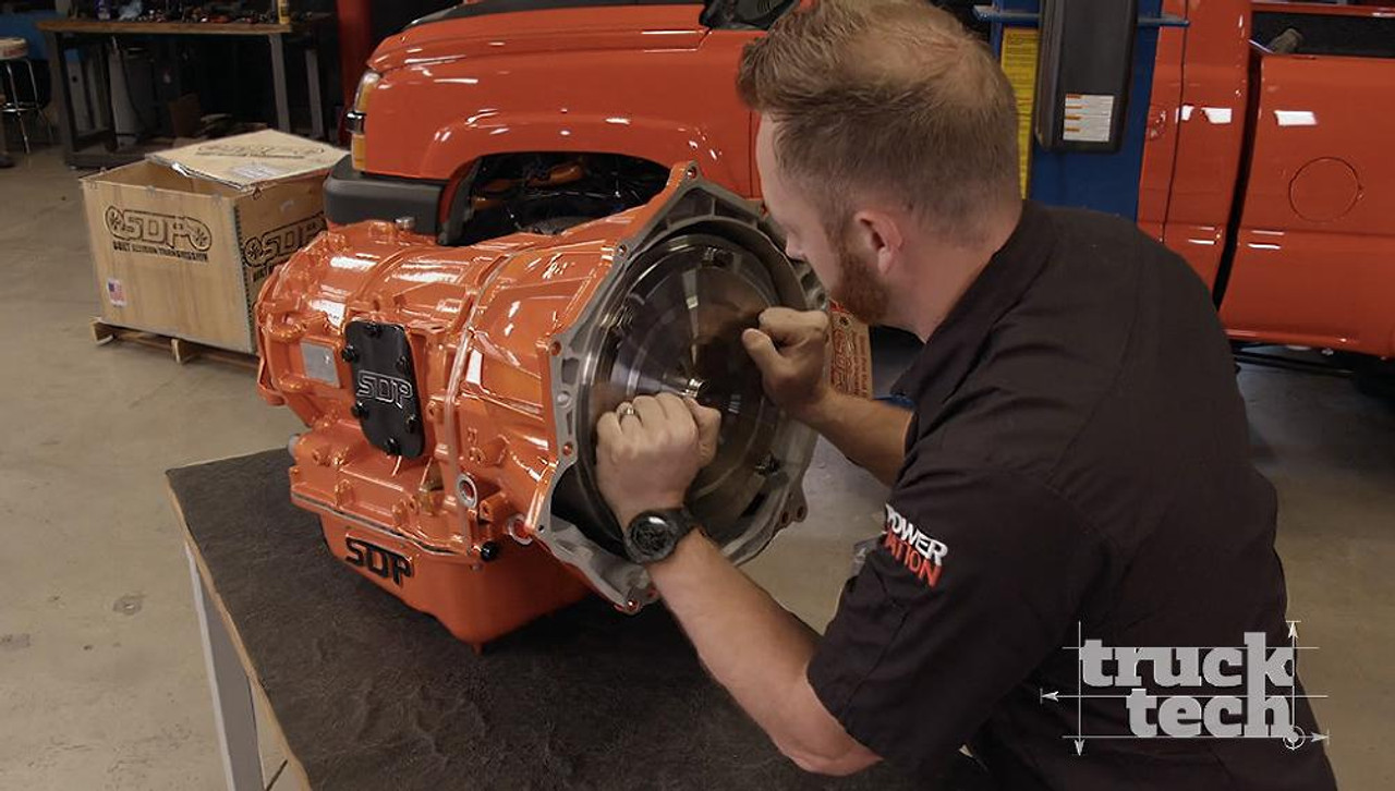 SDP Billet Allison 1000 with Powder Coat featured on PowernationTV TruckTechTV