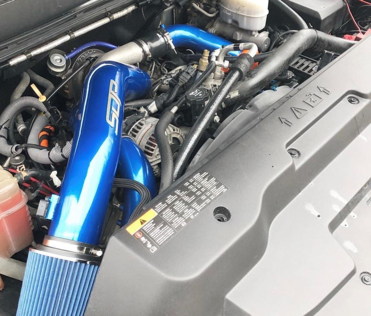"Duramax LML 3"" Billet Y-bridge and intercooler pipe kit with 4"" intake (includes drivers side intercooler pipe option)"